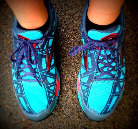 I ran 4 miles in my old shoes and this is what I learned…